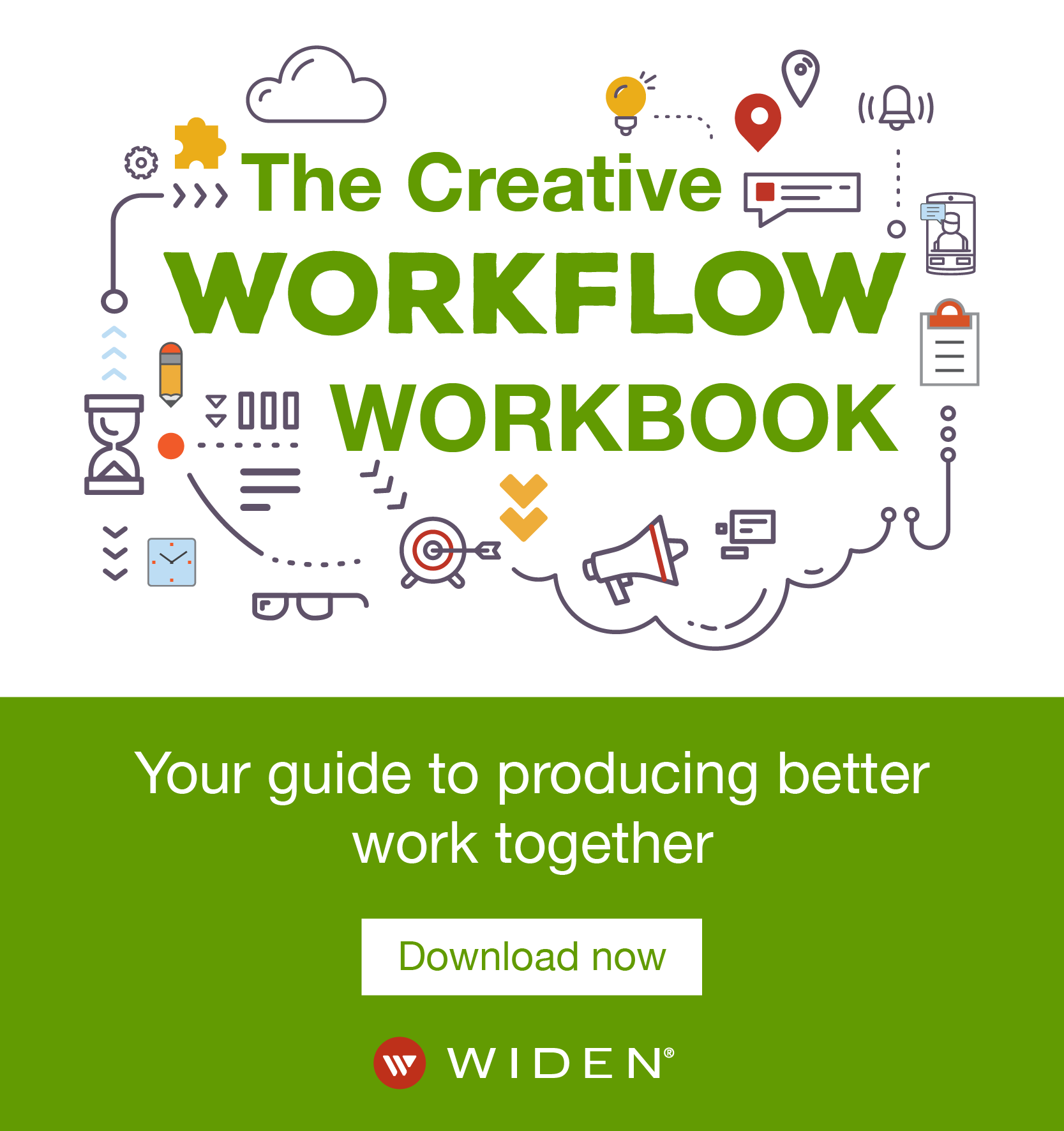 Widen CMI podcast workflow ad