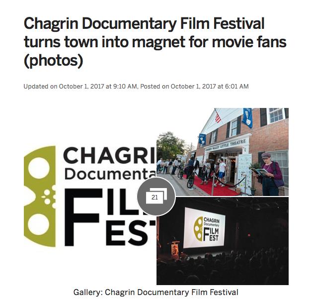 chagrin falls film festival