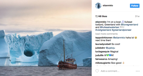 greenland-instagram-influencer