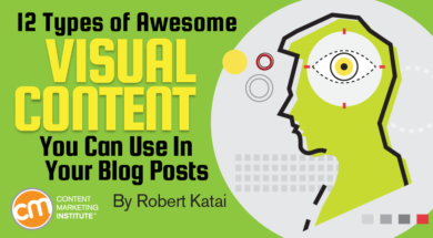 12 Types of Awesome Visual Content You Can Use in Your Blog