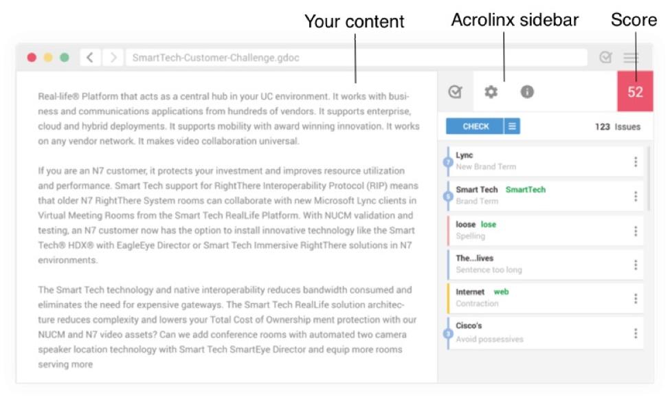 acrolinx-tool