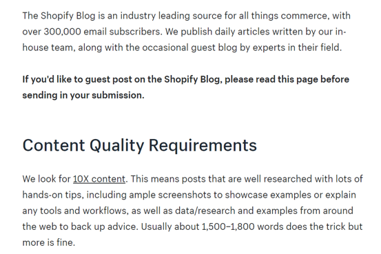 content-quality-requirements