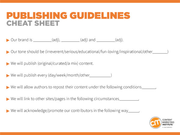publishing-guidelines-cheat-sheet