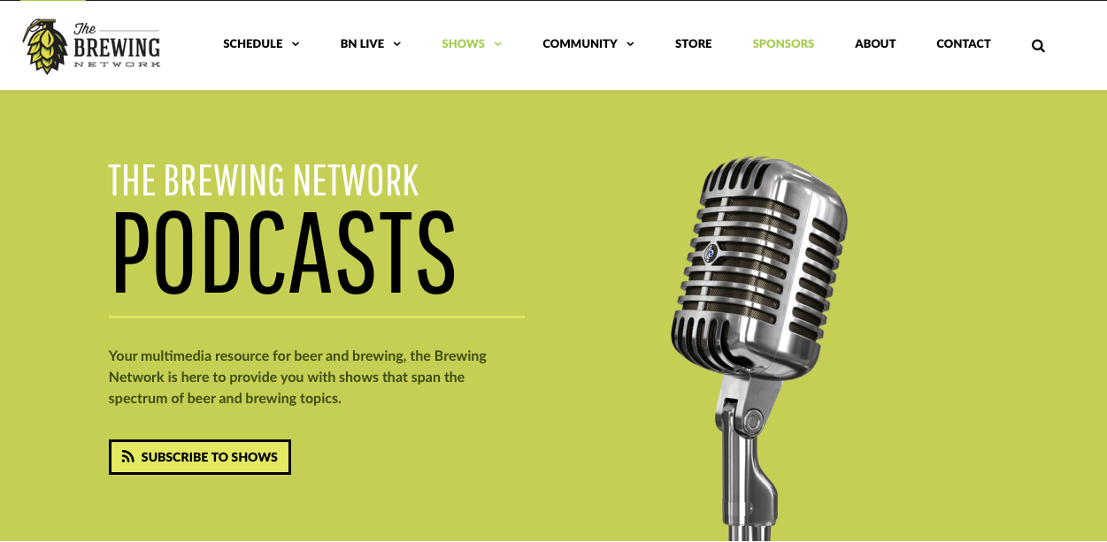 Brewing network podcasts