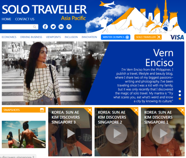 Solo Traveller Website