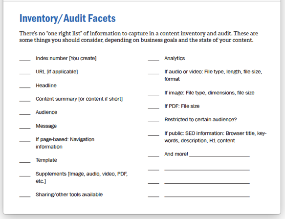 audit-facets