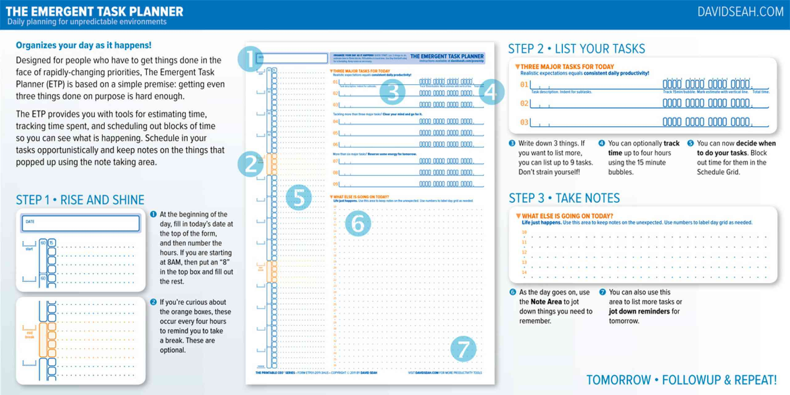the emergent task planner template