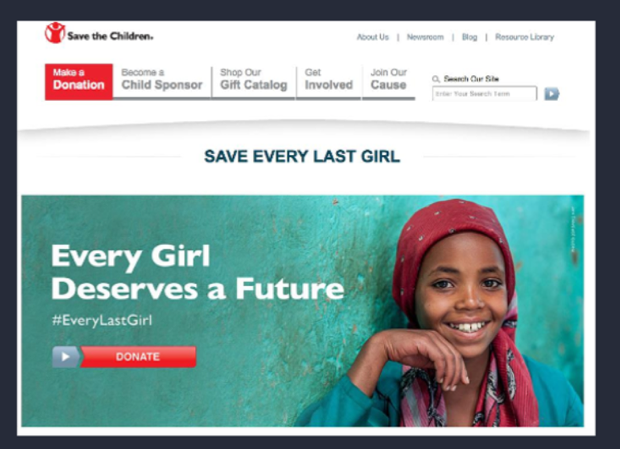save-the-children-landing-page-example