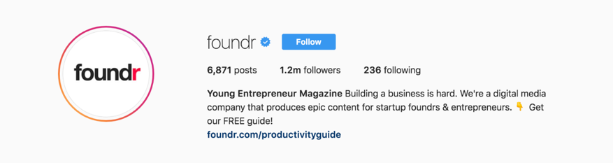 foundr-instagram-followers