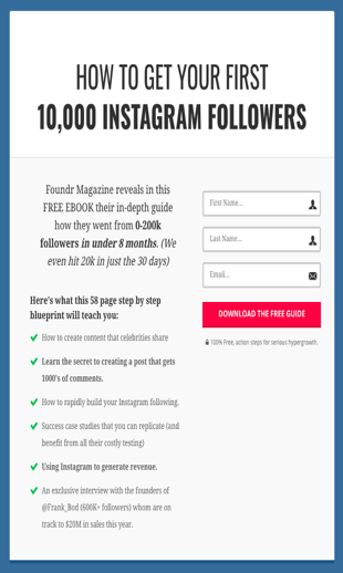 Instagram marketing lead gen content strategies foundr magazine optimized instagram malvernweather Images