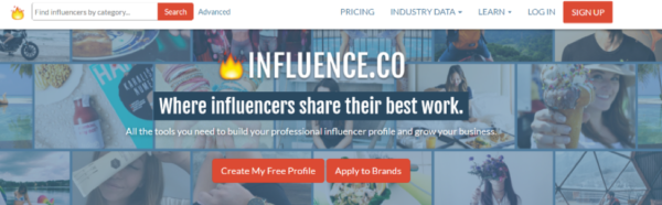 influence.co-website