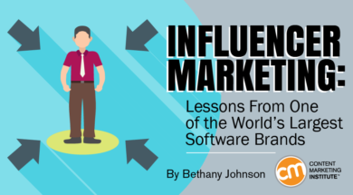 Influencer Marketing: Lessons From One of the World's Largest Software Brands