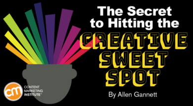 The Secret to Hitting the Creative Sweet Spot