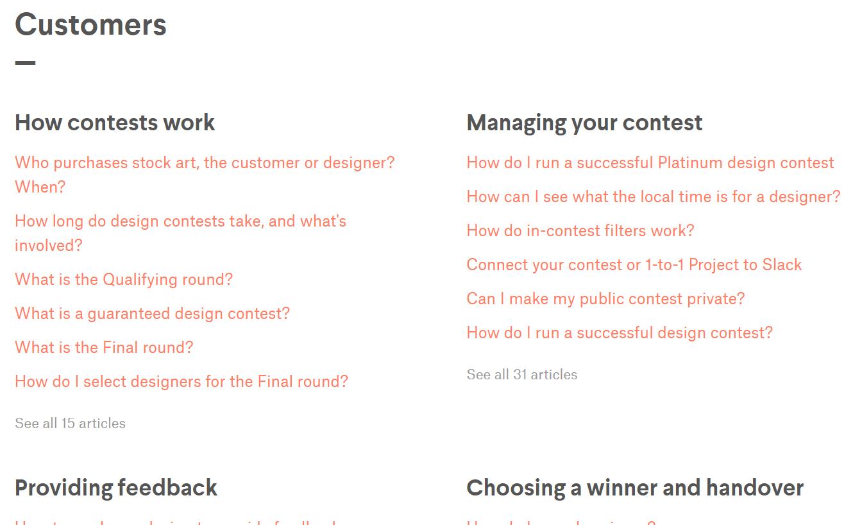 99 Designs Example