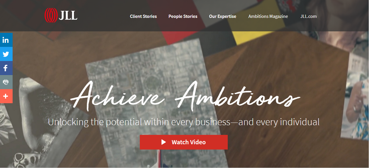 ambitions-website-example