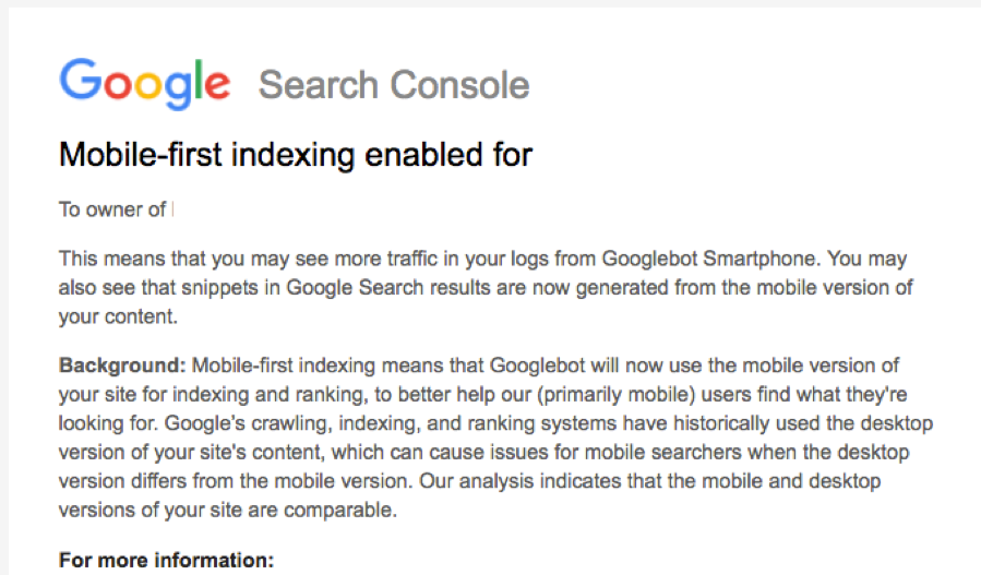 google-search-console-mobile-first-indexing