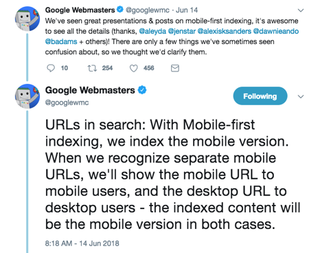googlebot-twitter-mobile-first-best-practices