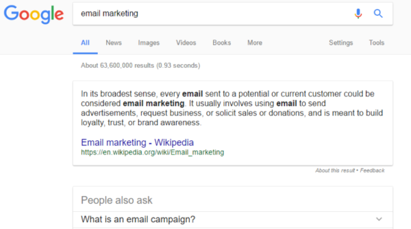 google-featured-snippet-example