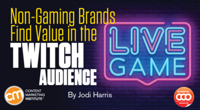 Non-Gaming Brands Find Value in the Twitch Audience