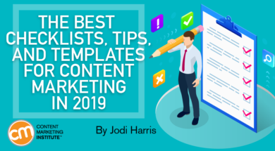 The Best Checklists Tips And Templates For Content Marketing In 2019