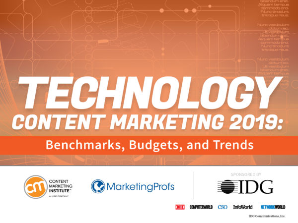 Tech Content Marketers Talk Content Creation Challenges, Tools, and Trends [New Research]