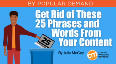 Wasted Words and Phrases in Content: 25 to Get Rid of