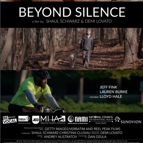 Beyond Silence documentary movie poster.