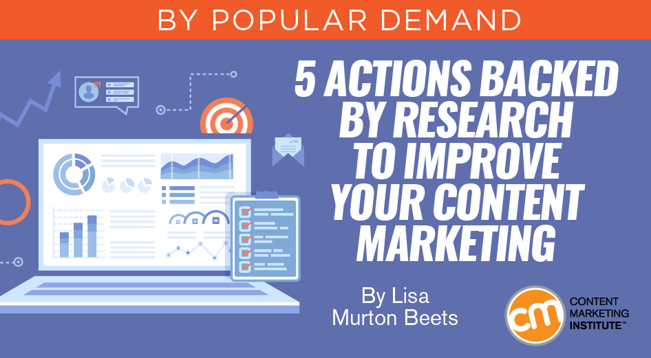 5 Actions Backed by Research to Improve Your Content Marketing