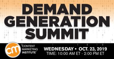 demand generation summit