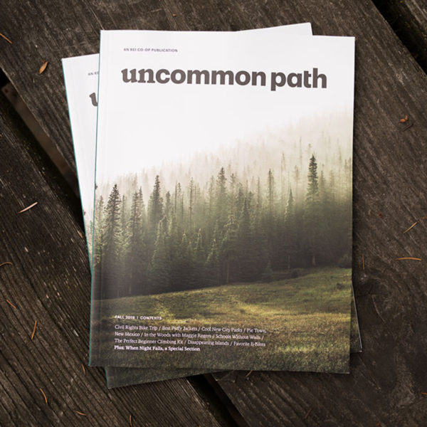 image of REI uncommon path magazine cover