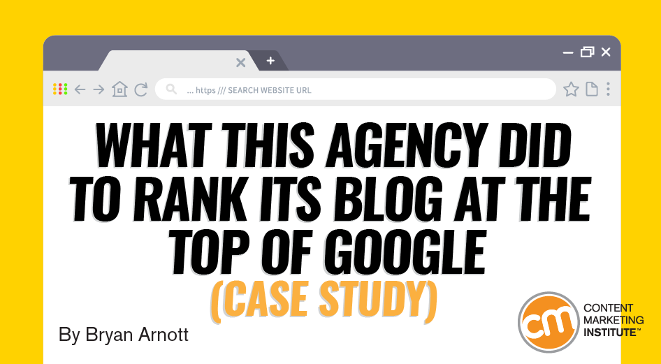 What This Agency Did to Rank Its Blog at the Top of Google (Case Study)