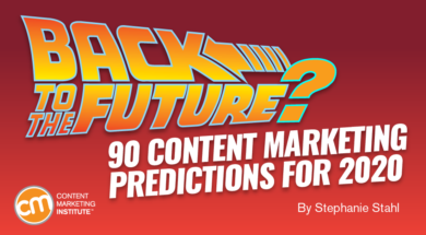 Back to the Future? 90 Content Marketing Predictions for 2020