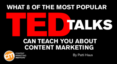 What 8 of the Most Popular TED Talks Can Teach You About Content Marketing 4