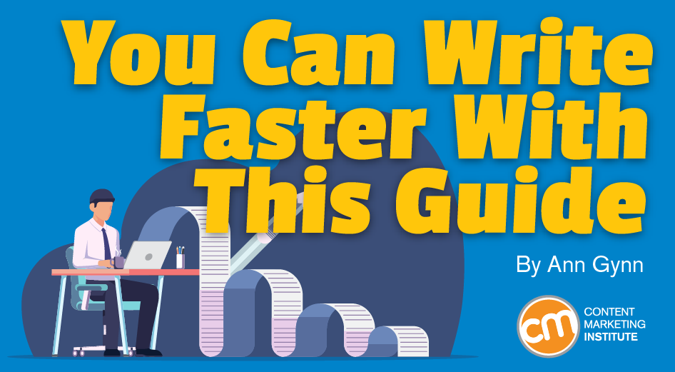You Can Write Faster With This Guide