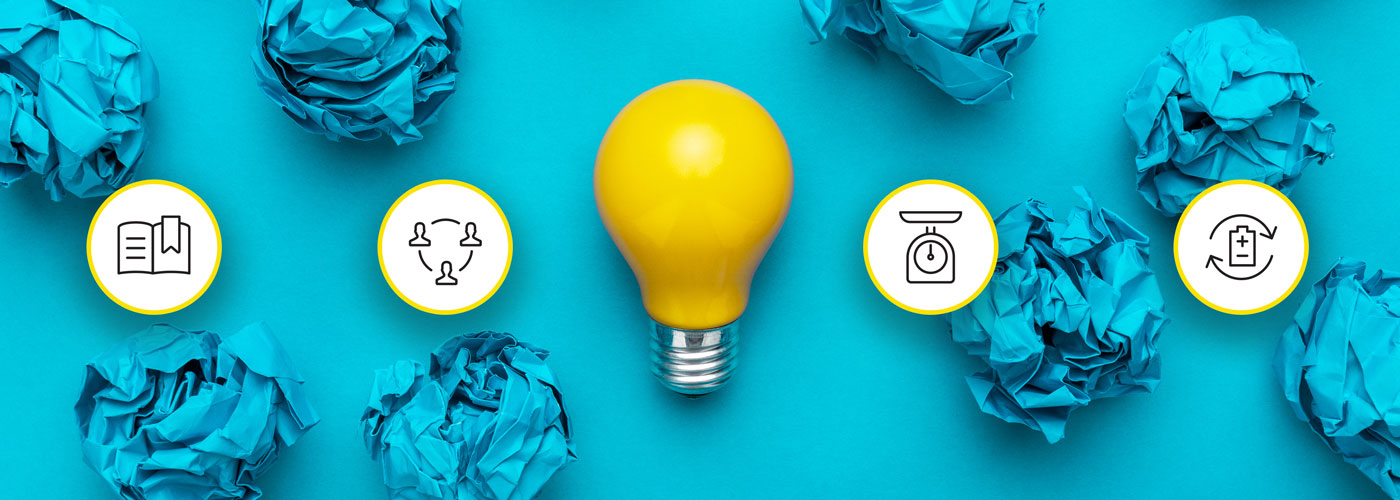 Bright ideas for increased content marketing productivity