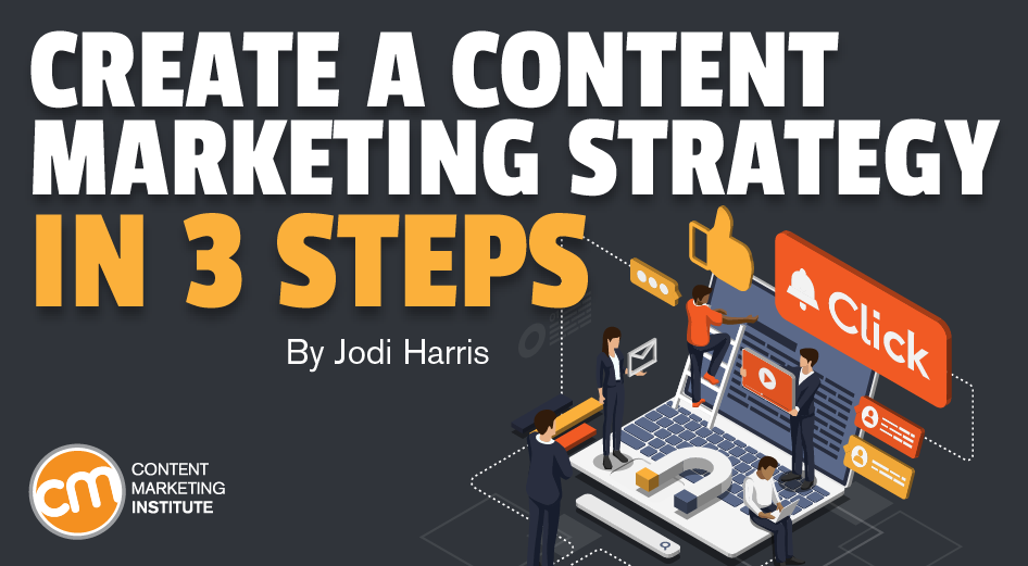 Create a Content Marketing Strategy in 3 Steps