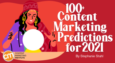 100+ Content Marketing Predictions for 2021, Cloud Pocket 365