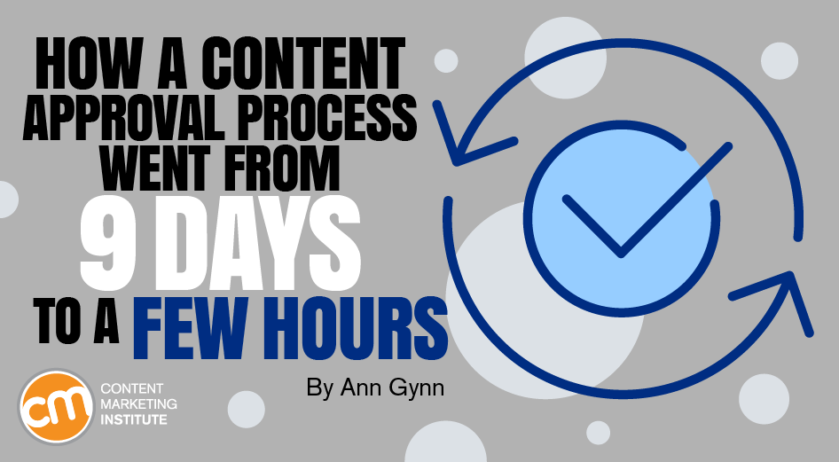 How a Content Approval Process Went From 9 Days to a Few Hours