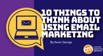 10 Things to Think About When Using Email Marketing